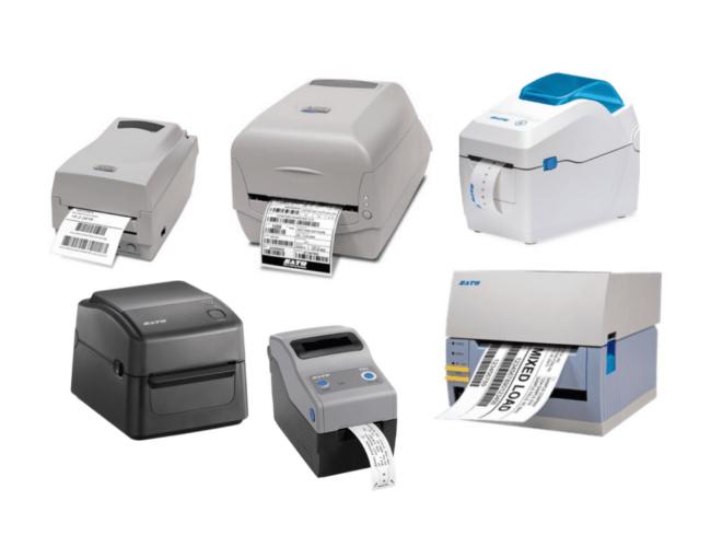600 Sato條碼標籤貼紙印表機